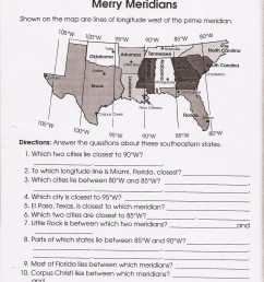 4th Grade Social Stu S Maps Worksheets   Printable Worksheets and  Activities for Teachers [ 2338 x 1596 Pixel ]