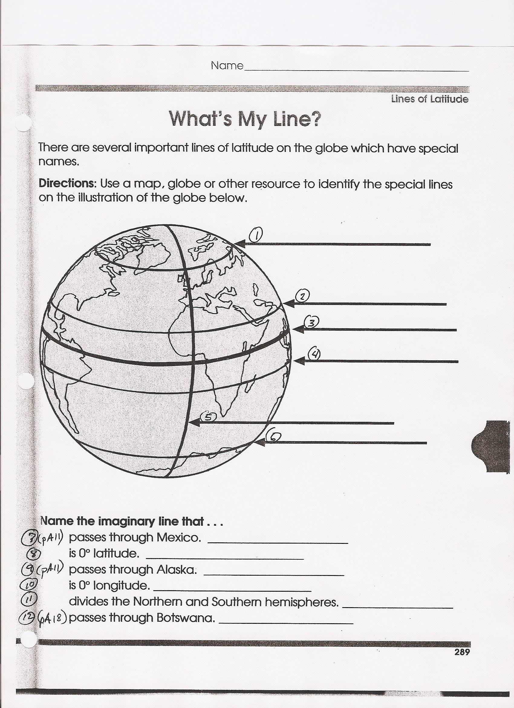 Longitude And Latitude Homework Help