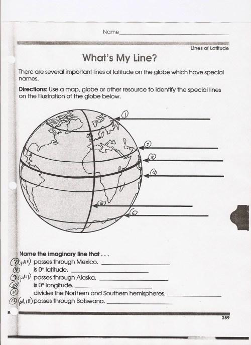 small resolution of Longitude And Latitude Homework Help - Latitude and Longitude: Lines on the  Earth