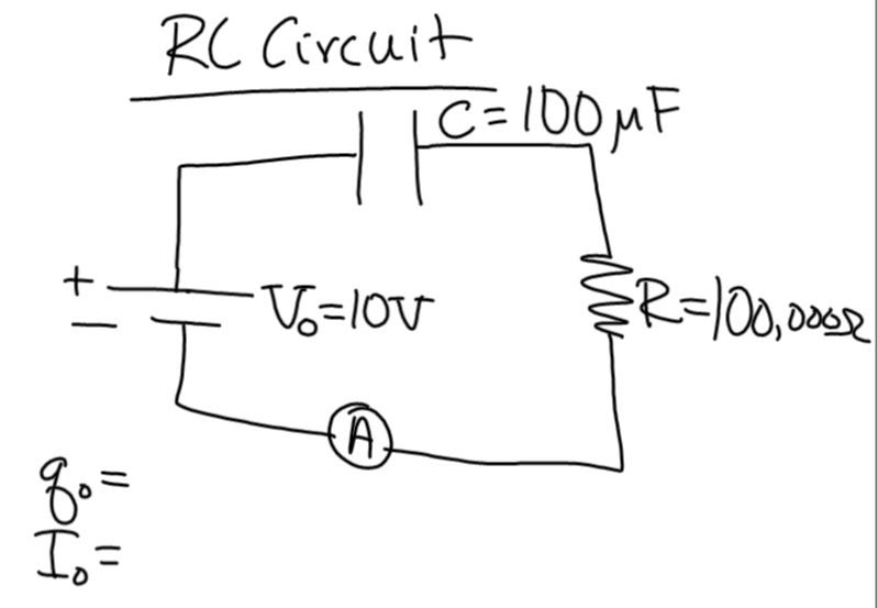 rc circuits 1 capacitors in series example 3