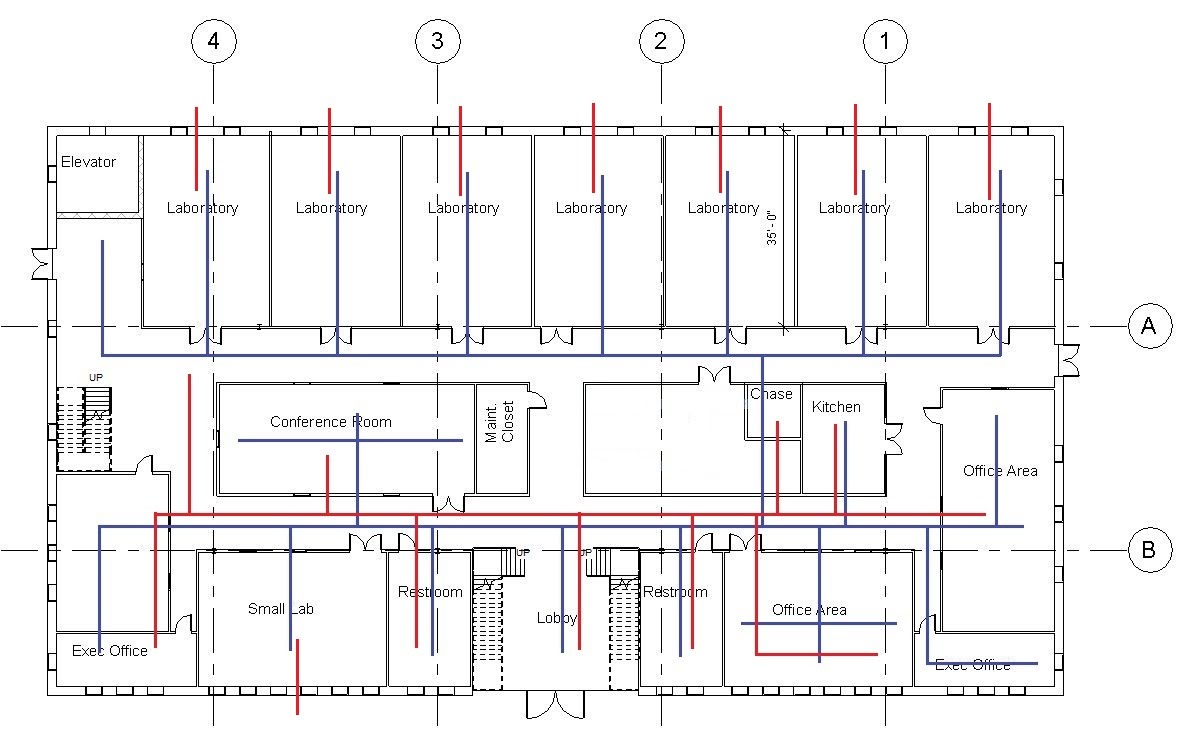 hight resolution of hvac single line diagram