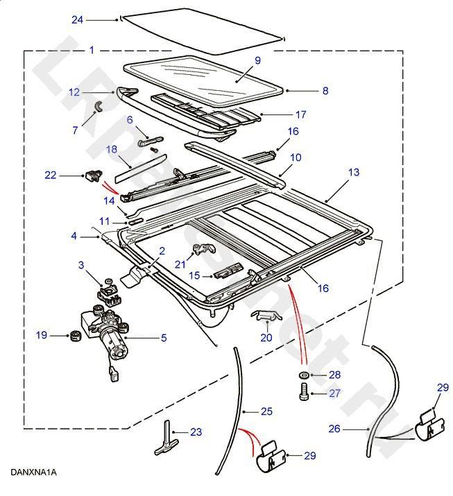 Range Rover L322 Fuse Box Diagram