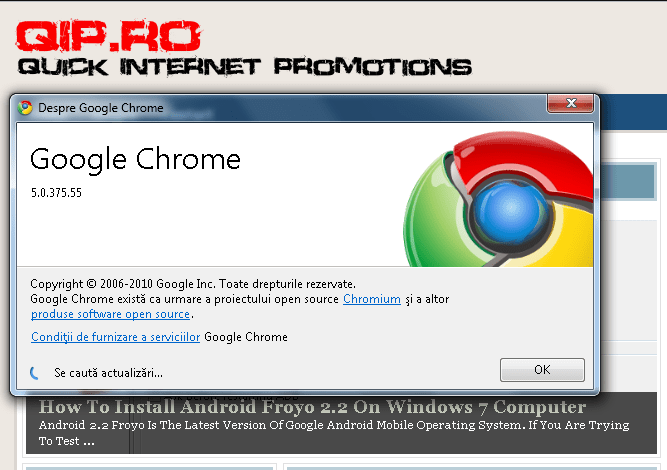 google chrome 5