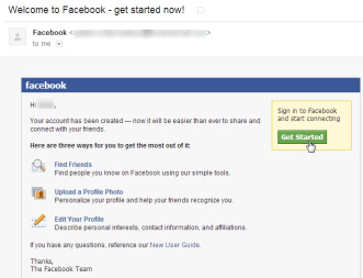 Confirming Your Email Address - Facebook for Beginners