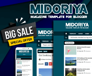 Midoriya Magz - Magazine Template Premium for Blogger