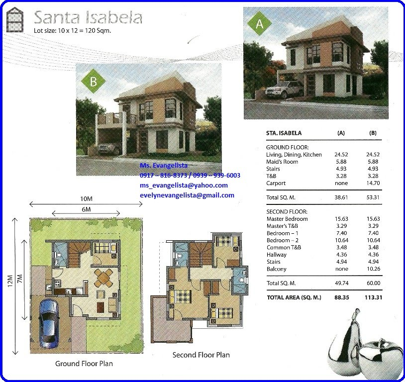 STA ISABELLE MODEL Sta Lucia Realty And Royale Homes Marketing