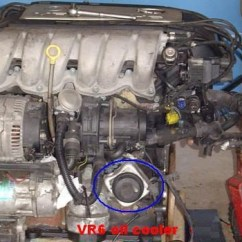 2000 Vw Beetle Engine Diagram 5 Way Switch Wiring Vr6 Oil Cooler O-rings Replacement - Izzo @ Google