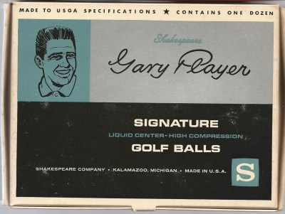 Gary Player Signature by Shakespeare