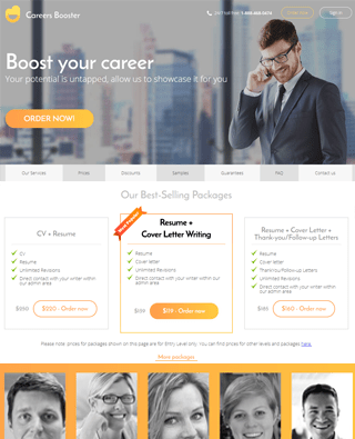 CareersBooster Reviews Top 5 Resume Writing Services 2018