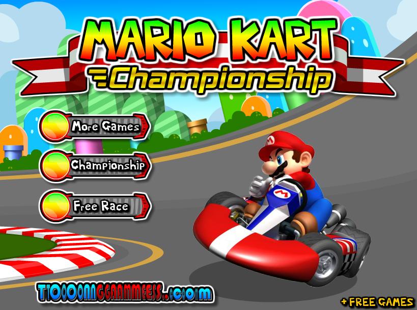 Mario Kart Championship Unblockeverythingatschool