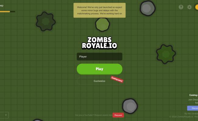 Zombsroyale Io Io Games Hacked Unblocked