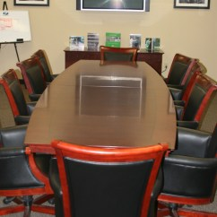 Conference Chairs For Sale Toddler Personalized Chair Executive Table And 10 Matching Leather Wood