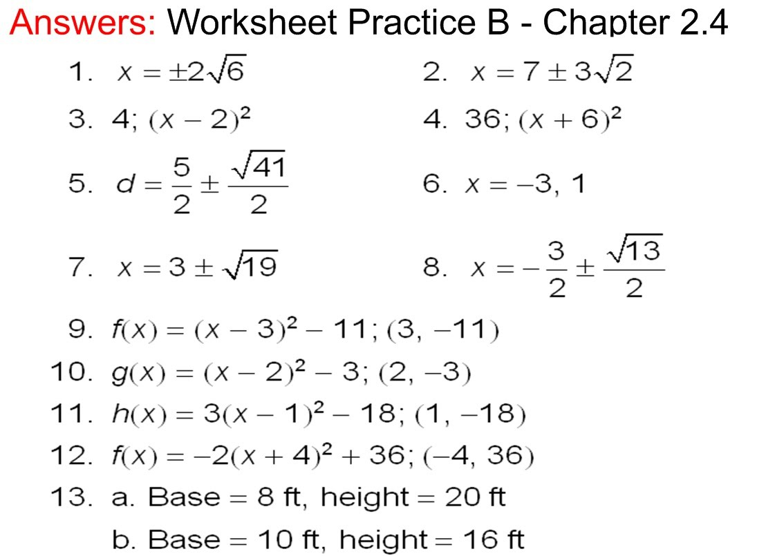 Worksheet Algebra 2 Practice Worksheets Worksheet Fun