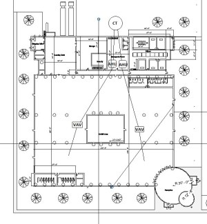 HVAC Single Line Diagram  World's Fair Pavilion