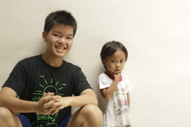 Joshua Emmanuel Tan (Co-Founder, of The MEALenium Project) with Jhem.