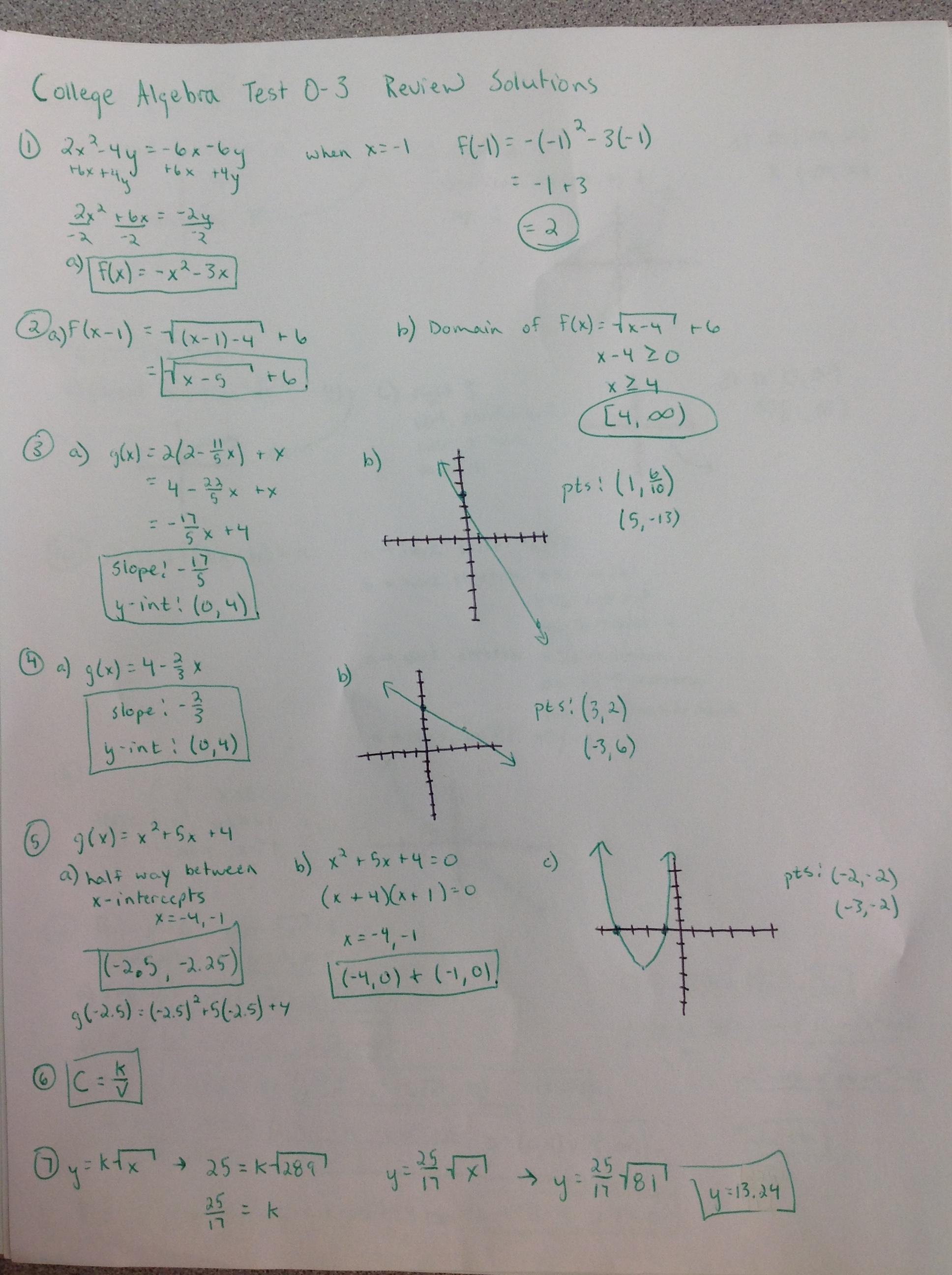 35 College Algebra Inverse Function Worksheet