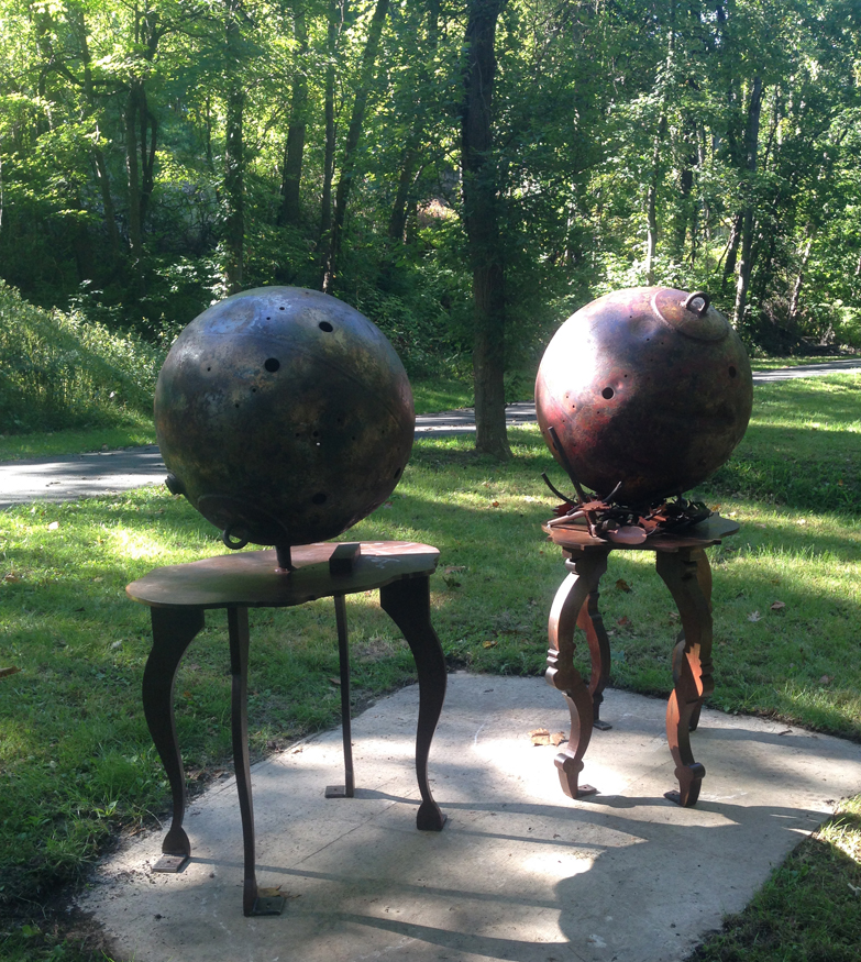 Faculty Auctioning Works for Karl Stirner Arts Trail