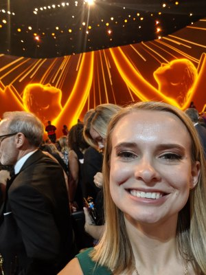 Kate Hauersperger at the Emmys