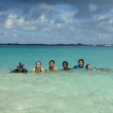 Team at Castle Island