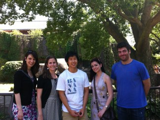 062712 Lab Outing- LabPicwithLion