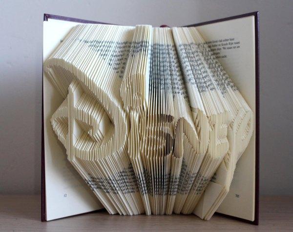 Folded Book Art Disney Patterns