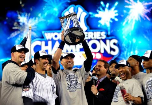 Image result for Derek Jeter world series