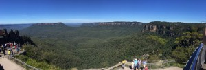 The Three Sisters lookout