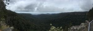 Panorama of top ridge lookout