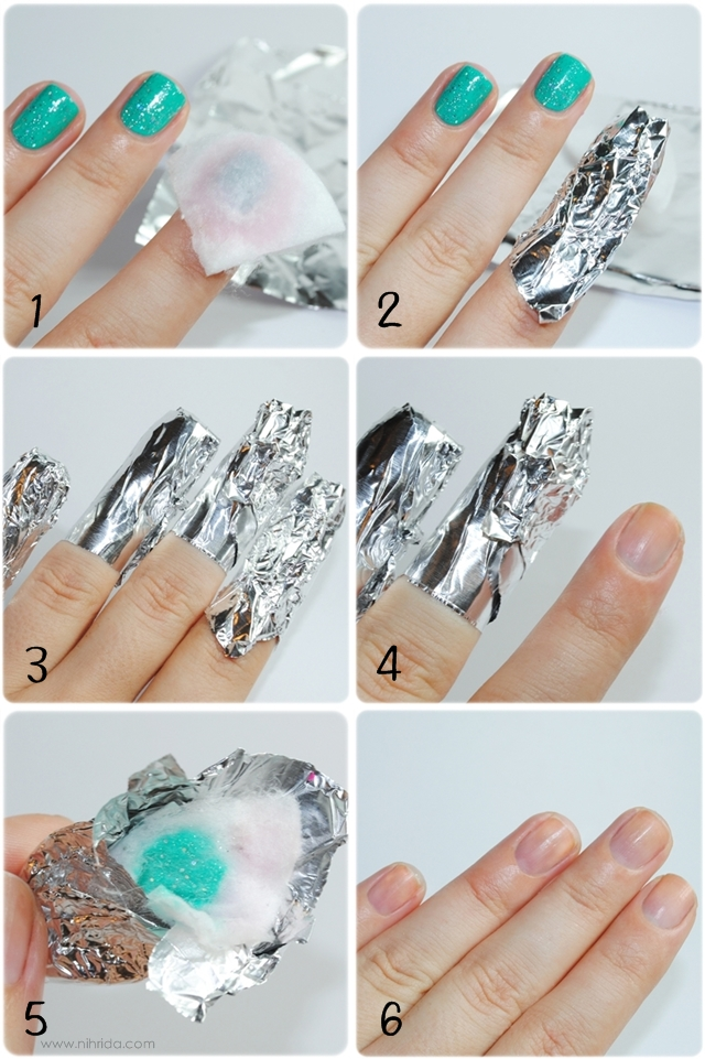 Gel Polish Removal Tutorial With Sephora By Opi Gelshine Kit