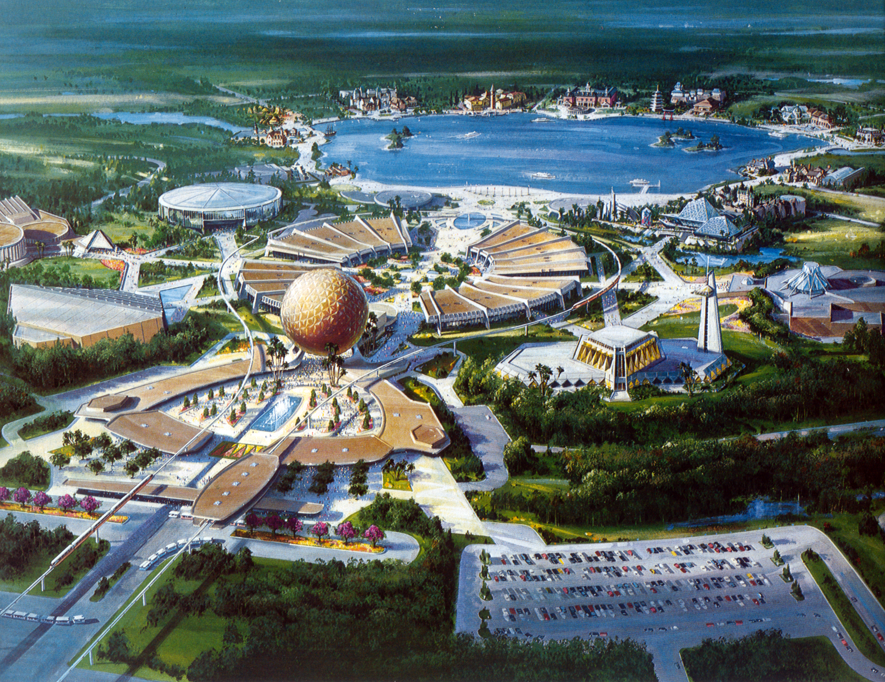 Image result for epcot center