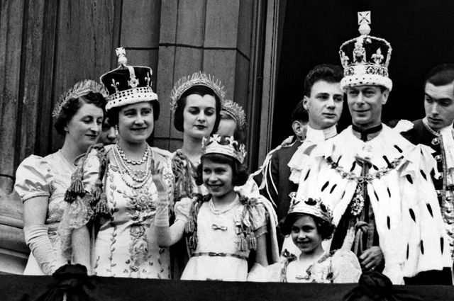 Image result for King George VI and family