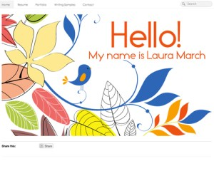 Laura March's ePortfolio