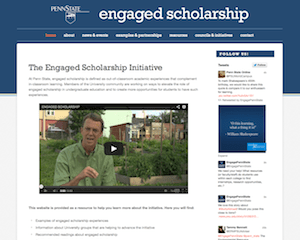 Engaged Scholarship website