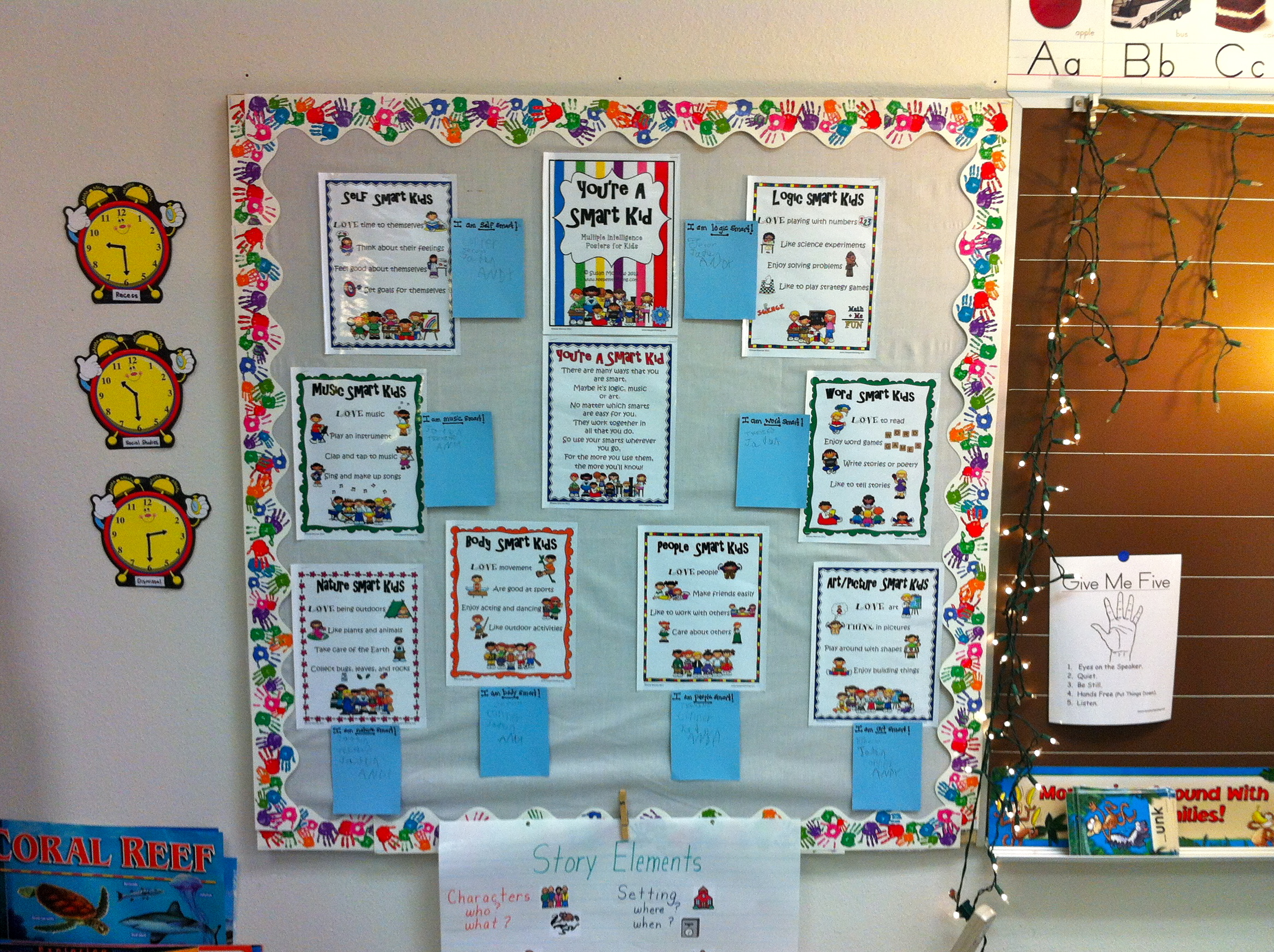 Bulletin Boards  Clare Healys Education Portfolio