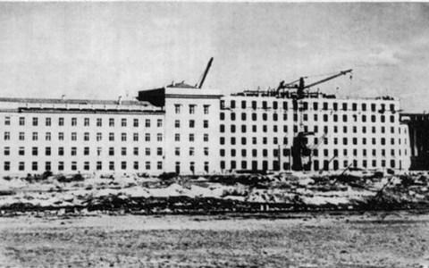 Главный корпус ЧПИ 1950-е