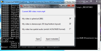 Image result for Spatial Media Metadata Injector