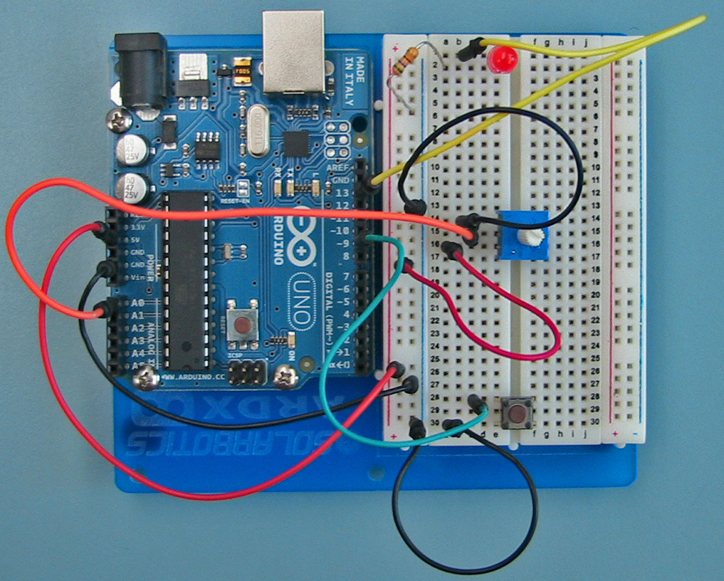 Simple Switch Circuit With Pull Up Resistor