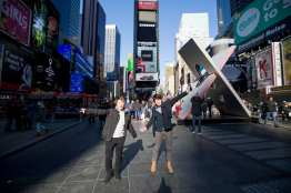 Guests and students had the opportunity to explore the city during the ELI 40 alumni event in New York City.
