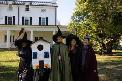 A discovery of witches at the ELI Halloween picnic.