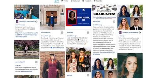 Class of 2020: Celebrating together, through social media