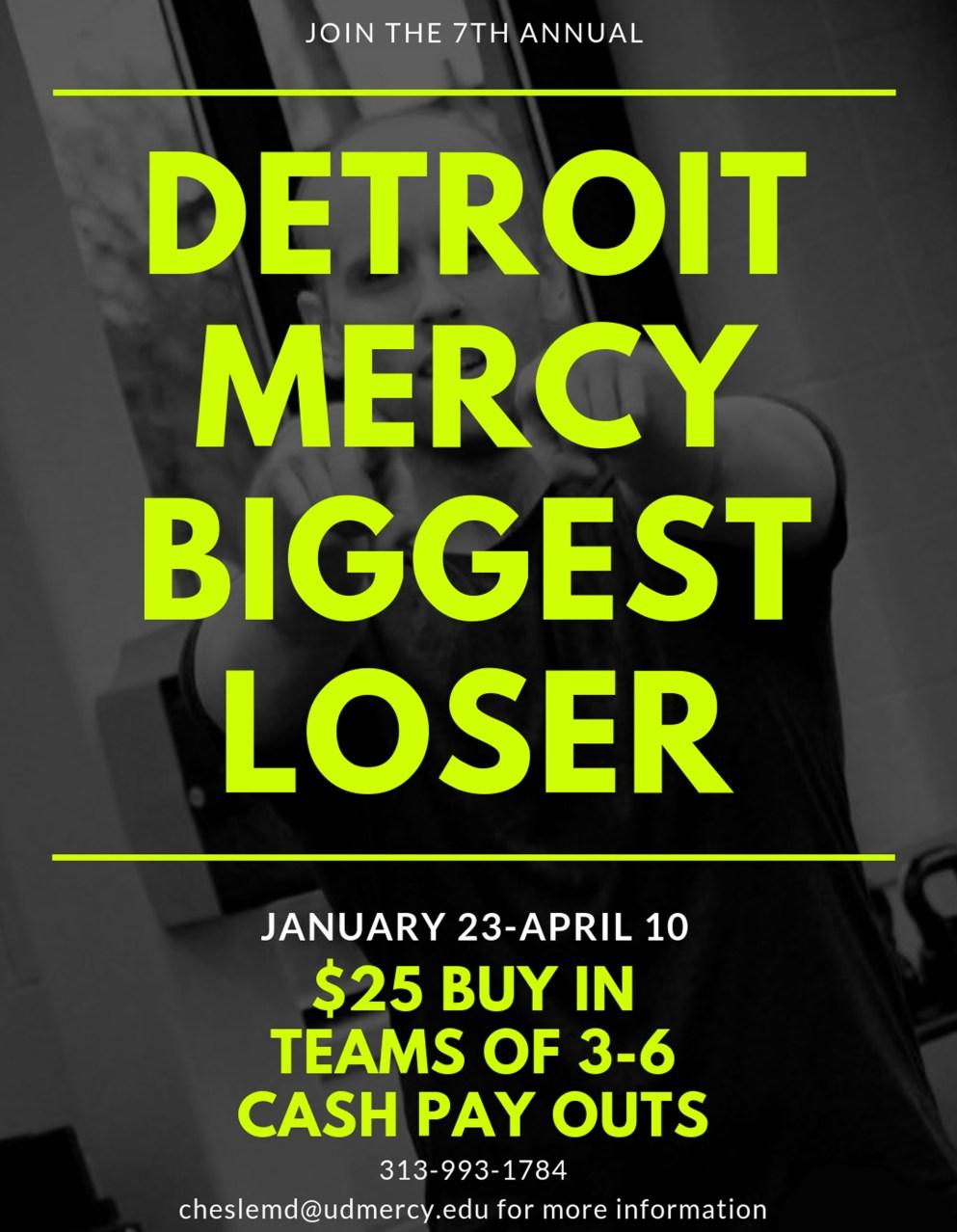 Detroit Mercy Biggest Loser competition