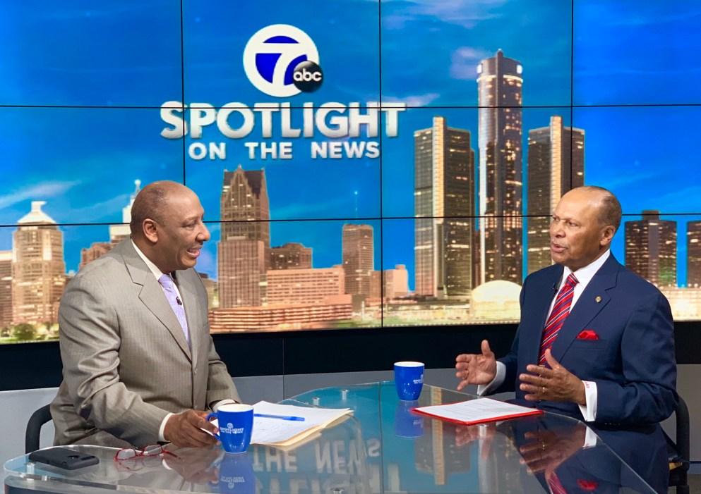 President Garibaldi interviewed by Chuck Stokes