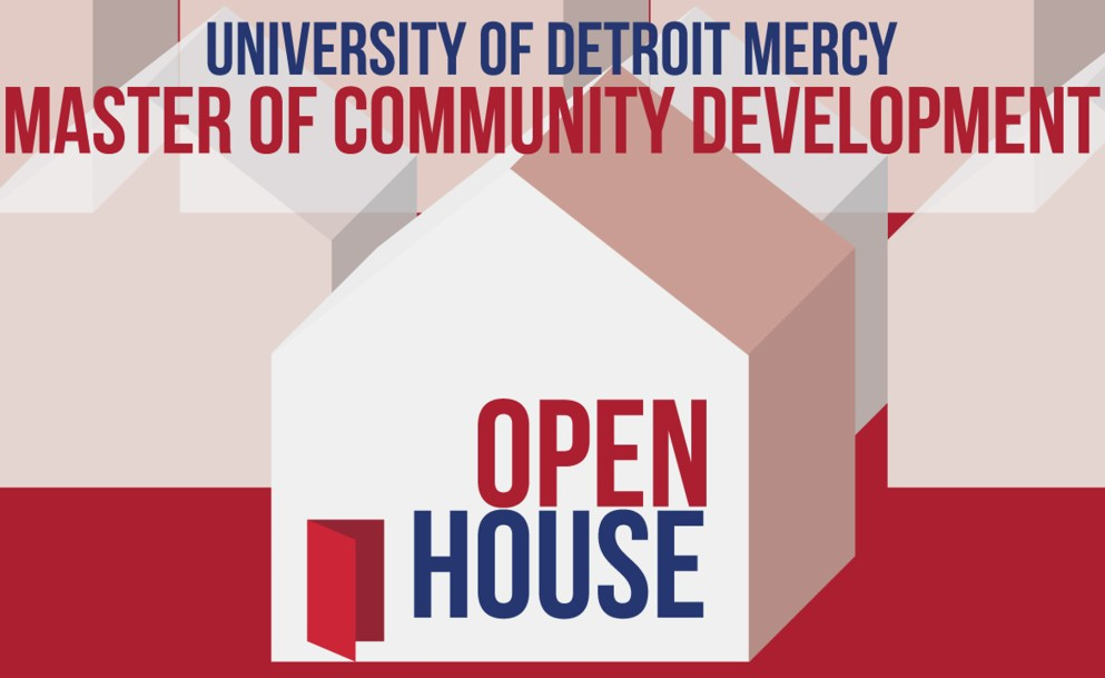 Master of Community Development Open House