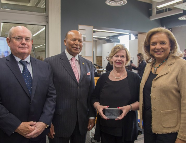 Detroit Mercy dedicates the Frederick & Suzanne Seibert Center for Innovation & Collaboration