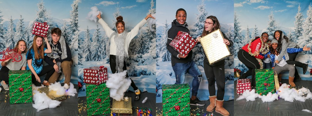 So much holiday spirit from our Titans!