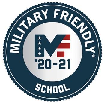 Military Friendly School 2020-21 logo