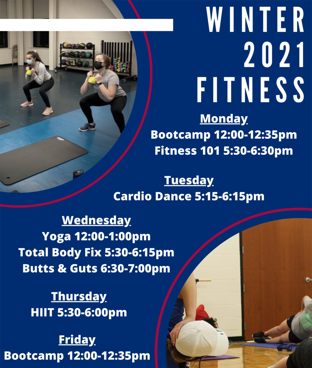 Winter Fitness Classes 2021