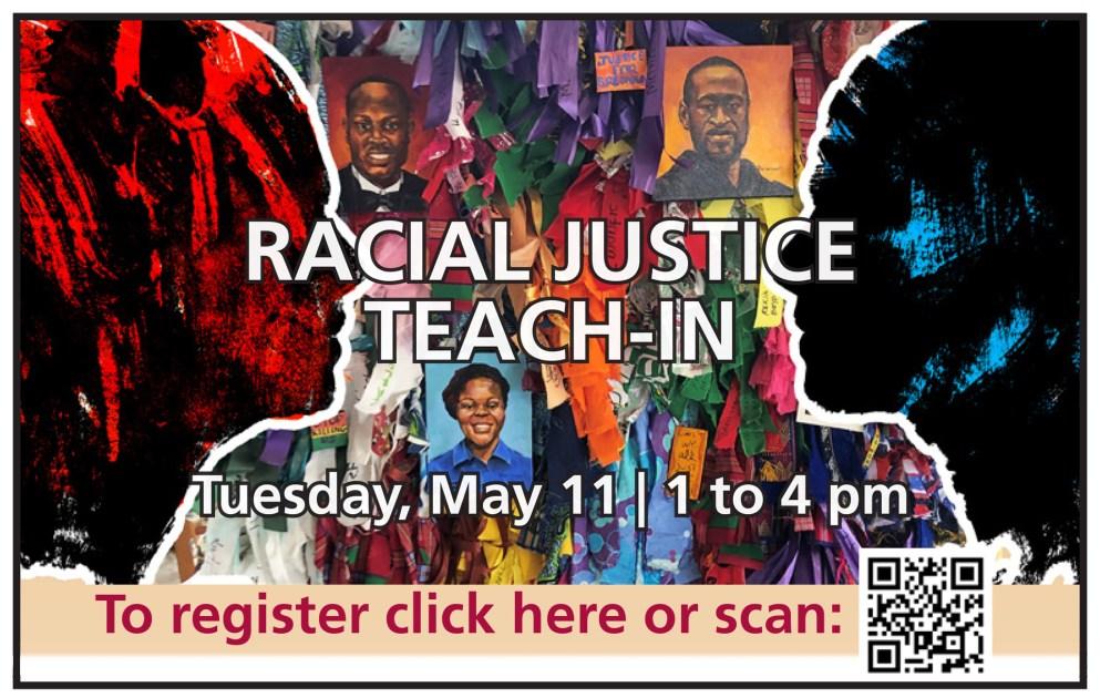 Racism Teach-In Flier 2021