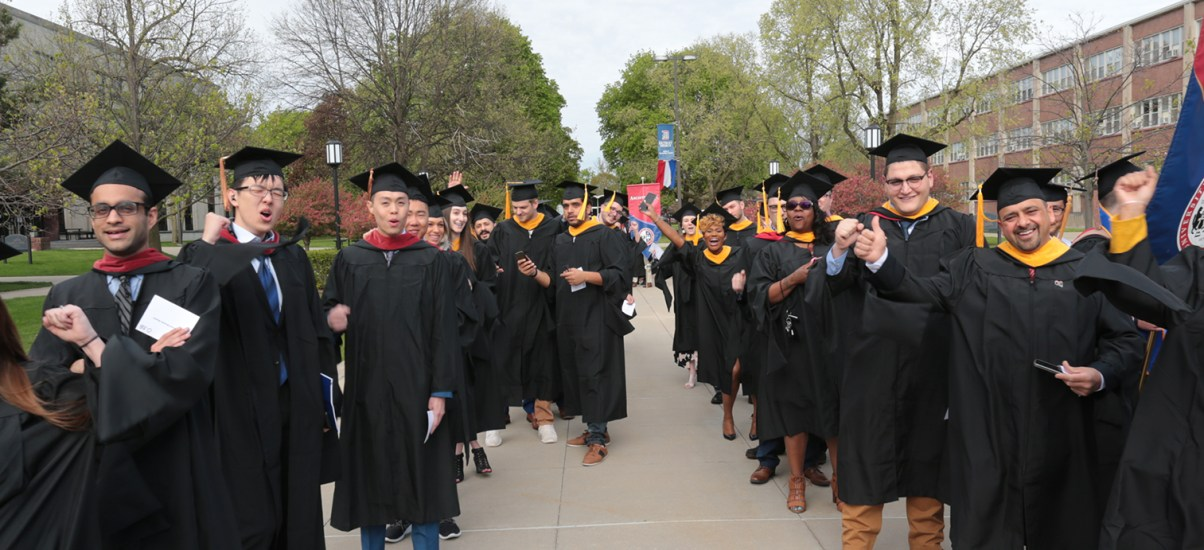 Recognize a graduating senior this month