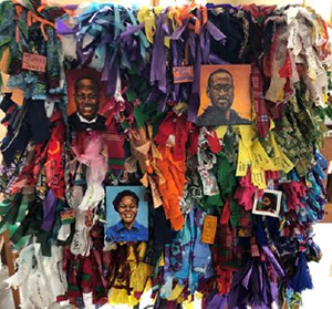 Detroit Mercy Healing Wall panel